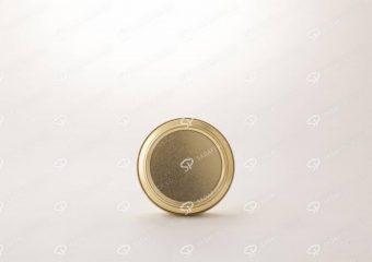 6/5 فلزی 3 سانت بدون طلق (100 طلایی)