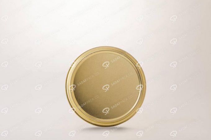 10 فلزی 2 سانت بدون طلق (300 طلایی)