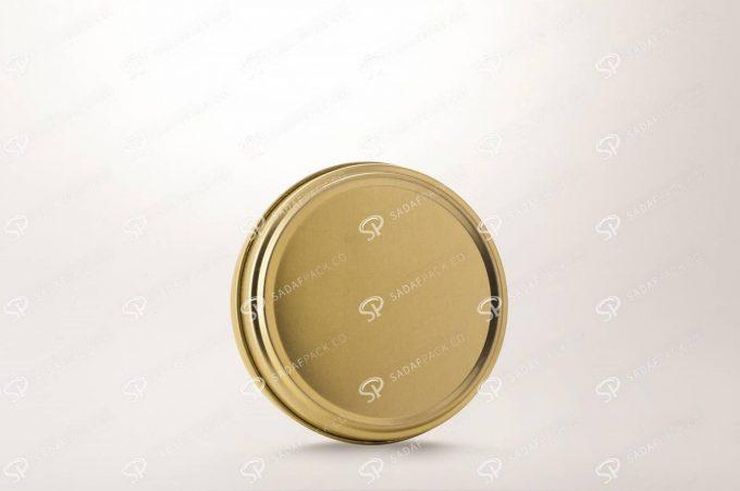 ##tt##- 10 فلزی 2 سانت بدون طلق (300 طلایی)  36552