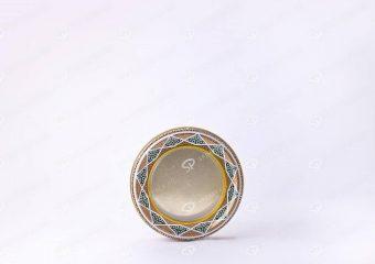 ظرف فلزی زعفران دایره سایز بزرگ