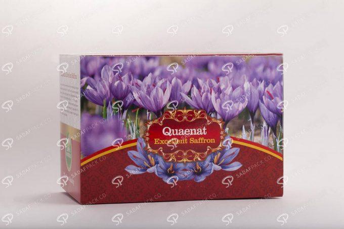 ##tt##- جعبه مادر مقوایی - جعبه مقوایی 250 گرم زعفران  36923