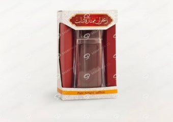 پاکت بسته بندی کاغذی و مقوایی زعفران