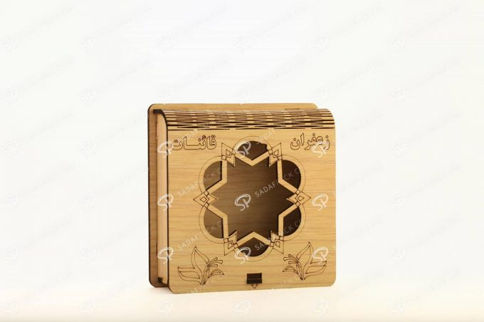 باکس چوبی 3 گرم فلزی