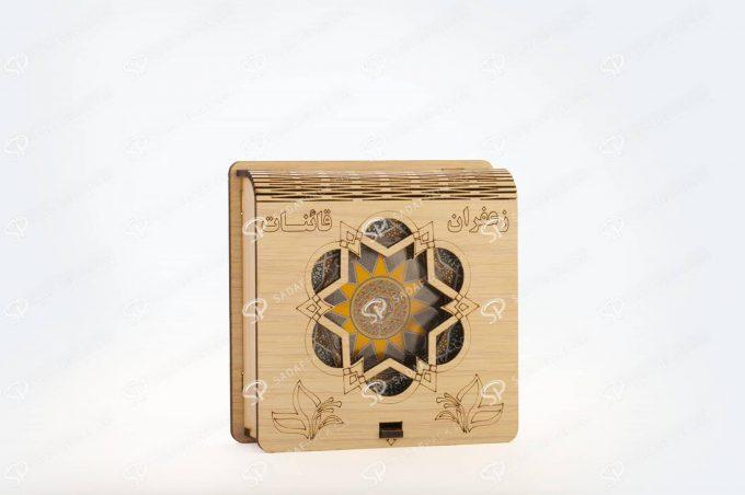 ##tt##- باکس چوبی 3 گرم فلزی  36567