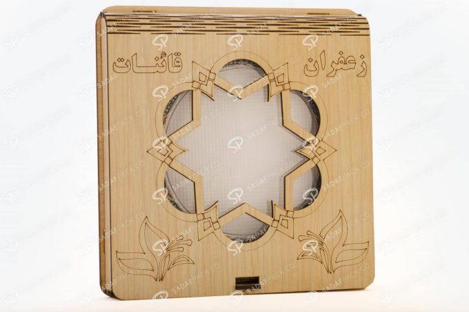 ##tt##- باکس چوبی 11 فلزی کف سفید  36568