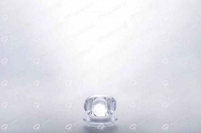 ##tt##- ظرف زعفران کریستالی طرح میلاد - کوچک  37675