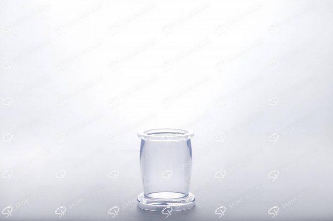 ##tt##- ظرف زعفران کریستالی طرح میلاد - کوچک  37676