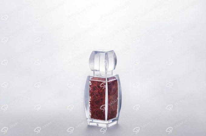 ##tt##- ظرف زعفران کریستالی طرح آذین - کوچک  37272