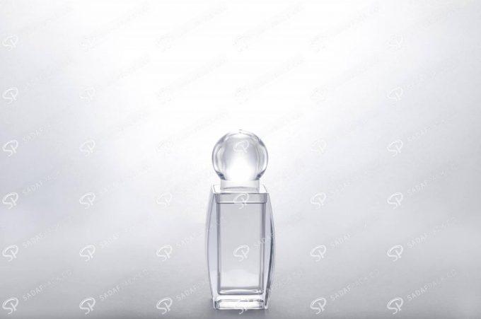 ##tt##- ظرف زعفران کریستالی طرح صدف - کوچک  37444