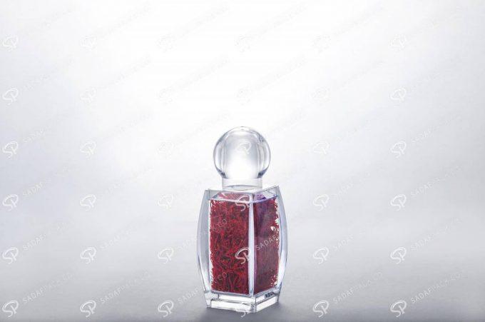 ##tt##- ظرف زعفران کریستالی طرح صدف - کوچک  37449