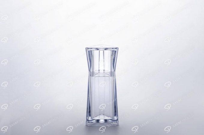 ##tt##- ظرف زعفران کریستالی طرح الماس - کوچک  37231