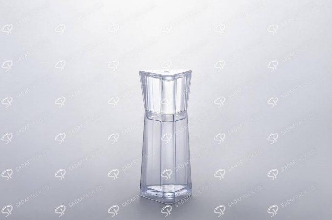 ##tt##- ظرف زعفران کریستالی طرح الماس - کوچک  37233
