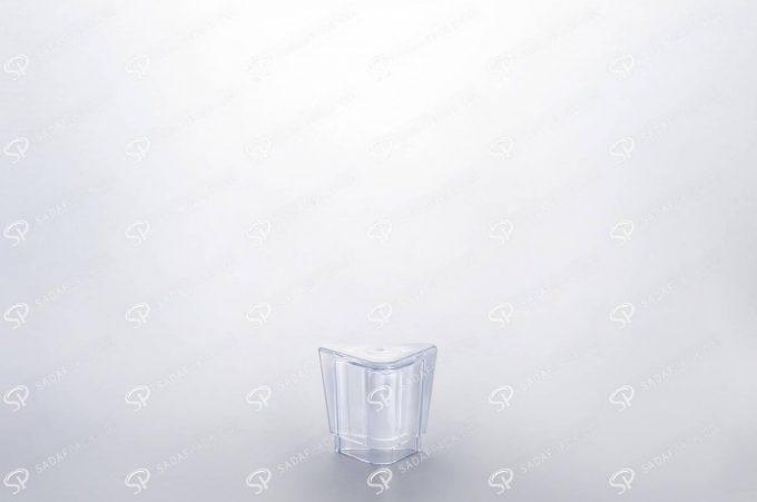 ##tt##- ظرف زعفران کریستالی طرح الماس - کوچک  37236