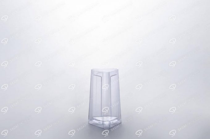 ##tt##- ظرف زعفران کریستالی طرح الماس - کوچک  37238