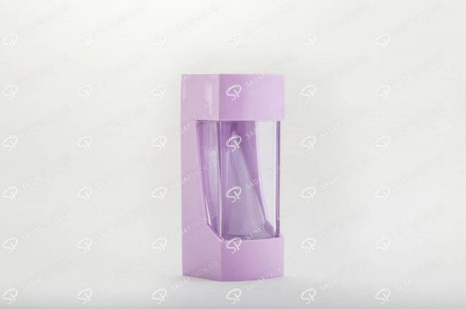 ##tt##- ظرف زعفران پلاستیکی مدل نگین - سوسنی  37207