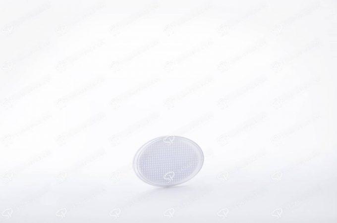 ##tt##- ظرف زعفران بیضی کف سفید سایز 2  37759