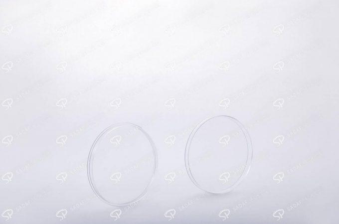 ##tt##- ظرف زعفران گرد - 6/5 تخت کریستال  37578
