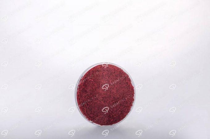 ##tt##- ظرف زعفران گرد - 9 تخت کریستال  38365