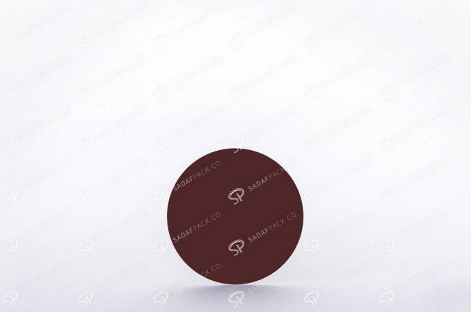 ##tt##- ظرف زعفران گرد - 9 تخت کریستال  38367