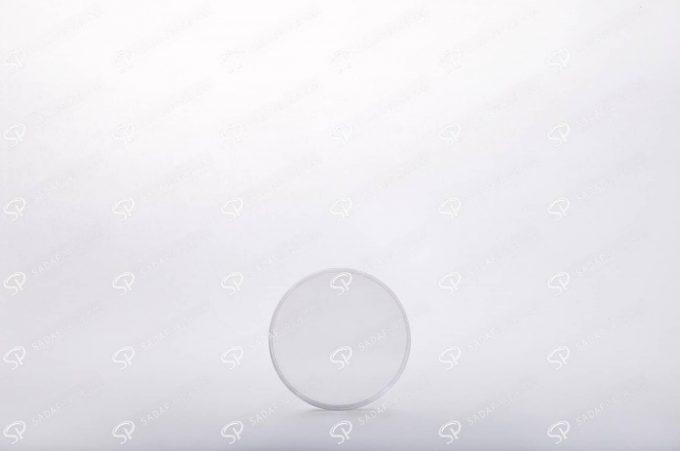 ##tt##- ظرف زعفران گرد - 5/5 متوسط کریستال  38263