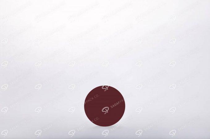 ##tt##- ظرف زعفران گرد - 5/5 متوسط کریستال  38268