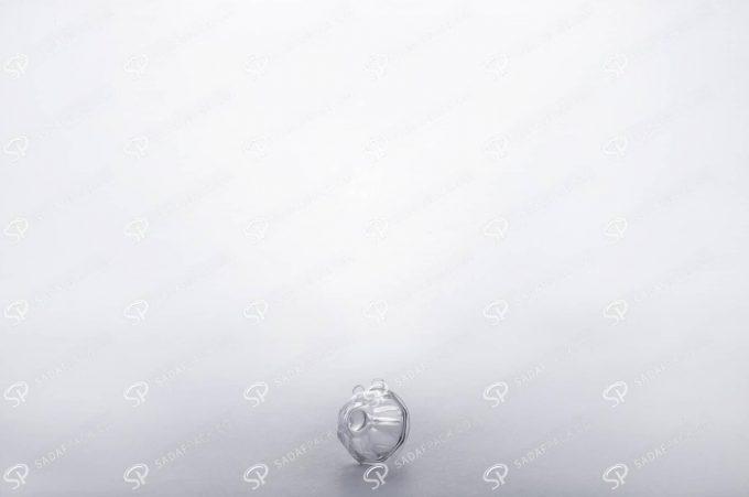 ##tt##- ظرف زعفران کریستالی طرح چشمی کوچک  37733