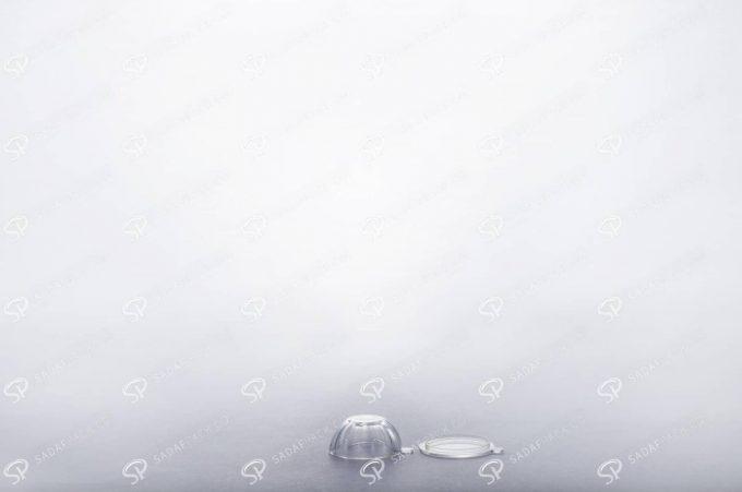 ##tt##- ظرف زعفران کریستالی طرح چشمی کوچک  37734
