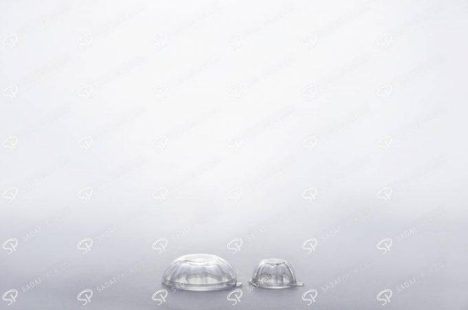 ##tt##- ظرف زعفران کریستالی طرح چشمی کوچک  37736
