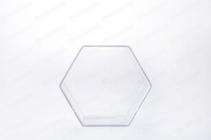 ظرف کریستالی شش ضلعی   صدف پک