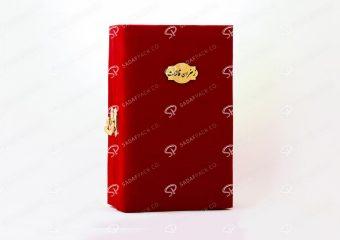 ##tt##- باکس مخملی آذین - متوسط 38724 | جعبه برای بسته بندی زعفران