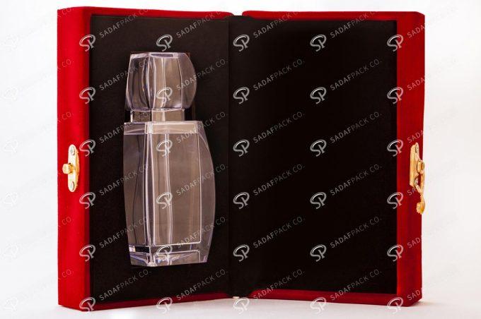 ##tt##- باکس مخملی آذین - بزرگ 38727 | جعبه برای بسته بندی زعفران