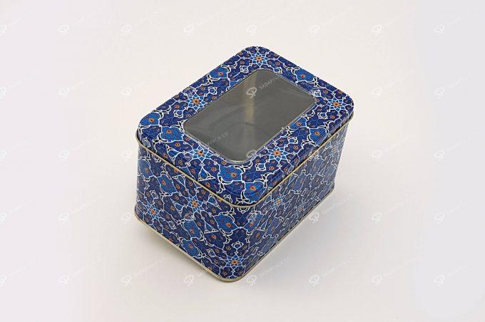 ظرف فلزی چهارگوش