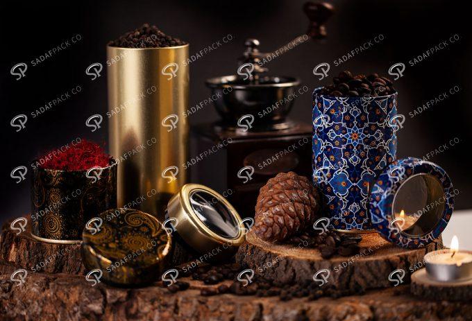 ##tt##- انواع قوطی فلزی طرح دار   صدف پک   66 38681