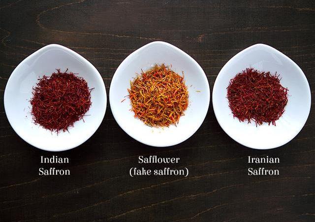 تشخیص زعفران اصل از زعفران تقلبی | شرکت صدف پک