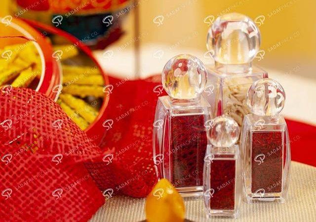 انواع بسته بندی صادراتی زعفران | شرکت صدف پک