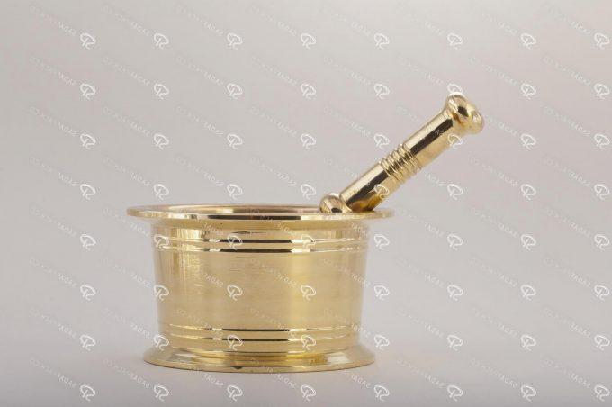 هاون فلزی زعفران تولید شرکت صدف پک 73211001
