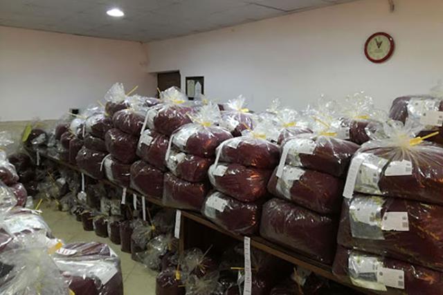 انبار زعفران در بورس کالا ایران | شرکت صدف پک
