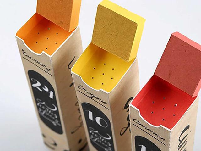 خلاقیت در بسته بندی ادویه ها | شرکت صدف پک