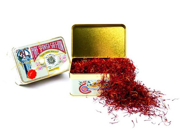 قوطی های فلزی زعفران اسپانیا | شرکت صدف پک