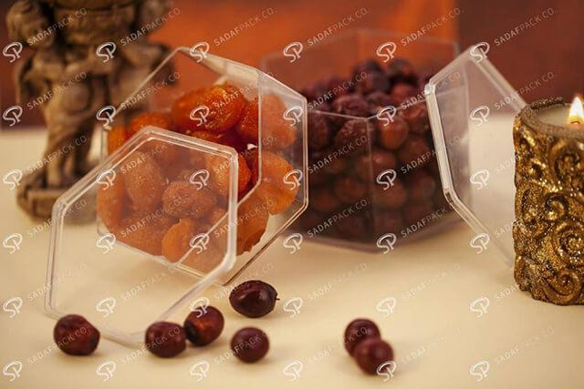 ظروف بسته بندی خشکبار | شرکت صدف پک
