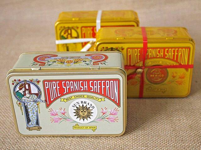 بسته بندی های فلزی زعفران اسپانیا   شرکت صدف پک