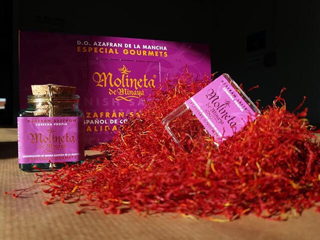 زعفران اسپانیایی Azafran Molineta de Minaya   شرکت صدف پک