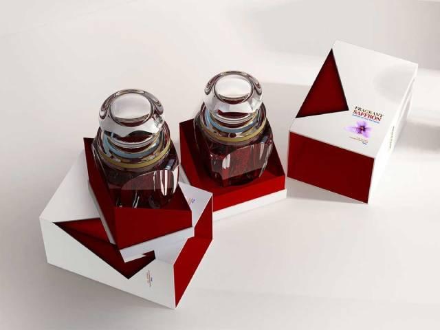 قیمت ظرف های بسته بندی پلی کریستال زعفران | شرکت صدف پک