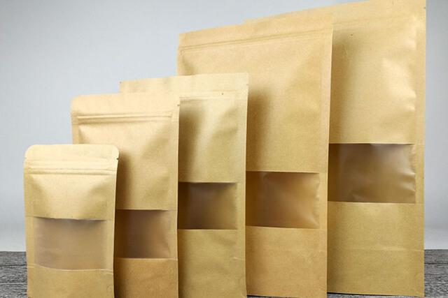 بسته بندی های زعفران تولید شده از کاغذ کرافت   شرکت صدف پک