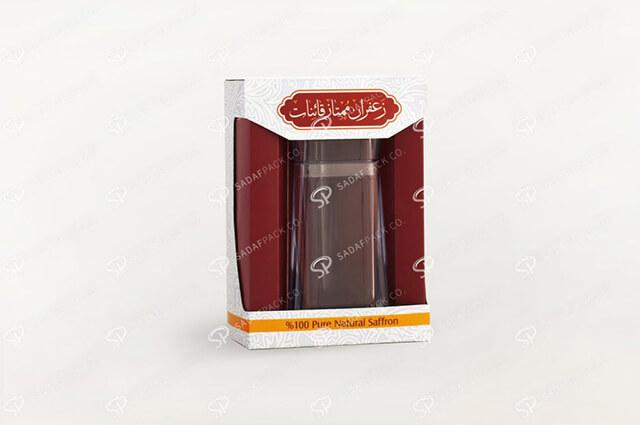 بسته بندی استاندارد زعفران   شرکت صدف پک