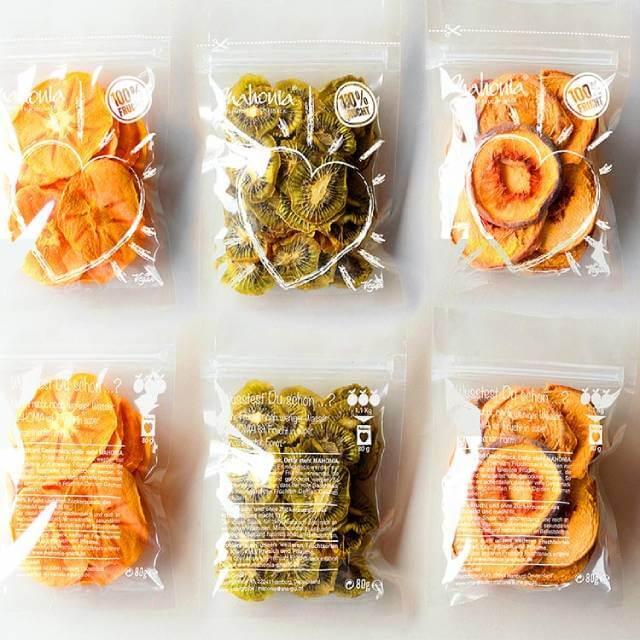 بسته بندی پلاستیکی میوه خشک | شرکت صدف پک