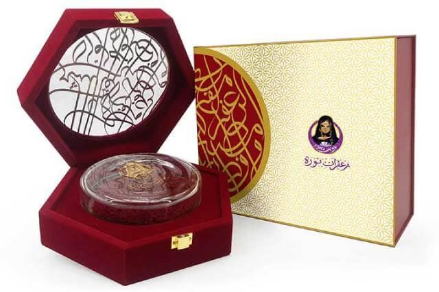 ظرف صادراتی شیشه ای زعفران | شرکت صدف پک