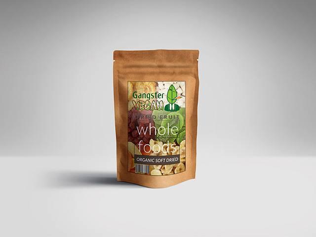 نمونه بسته بندی پاکتی میوه خشک   شرکت صدف پک