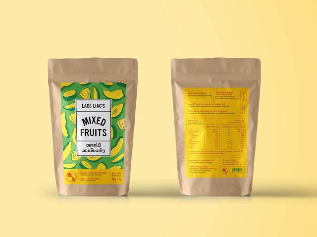 بسته بندی میوه خشک با کرافت | شرکت صدف پک