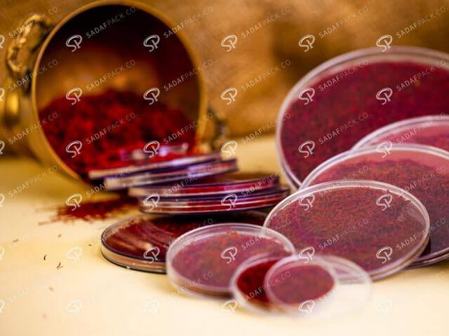 مزیت های خرید ظرف زعفران از صدف پک چیست | شرکت صدف پک